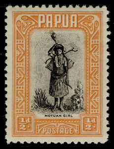 AUSTRALIA - Papua GV SG130a, ½d black & buff, NH MINT. Cat £19.