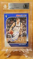 2019-20 NBA Hoops Blue #39 Luka Doncic Auto Card Beckett Authentic Invest $$$$