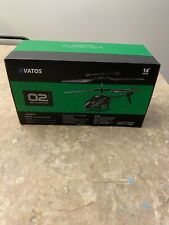 Vatos Rc Helicopter, Remote Control Helicopter with Gyro and Led Light 3.5 Chann