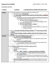 LPC Notes 2018 II Wills and Administration of Estates II Distinction Quality