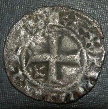 Medieval Silver Coin Lot 1000-1200's Ad Crusader Templar Cross Ancient Age Bird