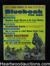 Blue Book Dec 1962 Klondike Kate, Stan Borack cover - High Grade