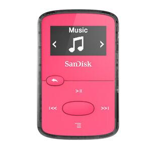 SANDISK RETAIL STORAGE MEDIA SDMX26-008G-G46P MP3 PLAYER BRIGHT PINK