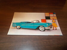 1957 Oldsmobile 98 Starfire Convertible Advertising Postcard