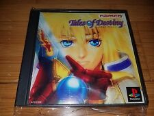 TALES OF DESTINY - playstation ps1 import psx psone US SELLER