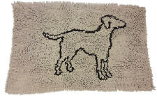 Ethical Pet Clean Paws Spot Micro Fiber Dog Mat 35 inches by 24 inches Tan