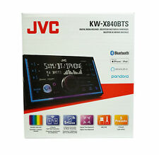JVC KW-X840BTS 2-DIN Digital Media Receiver w/ Bluetooth & Amazon Alexa
