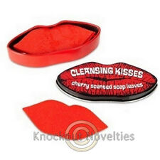 Cleansing Kisses Soap Leaves Twenty Sheets Lip Lips Shaped Love Wash Clean Fresh