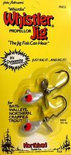 """Northland 1/4 oz Pearl """"Whistlin"""" Propellor Whistler Jig #WH4"""