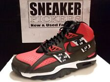 Nike Air Trainer SC High SOA - AQ5098 600 - Speed Red / Black - White - Size: 7