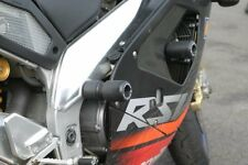 R&G Crash Protectors for Aprilia Tuono (2003 - 2005)  Black