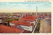 COLORADO. GENERAL VIEW OF FITZSIMONS GENERAL HOSPITAL DETACHMENT BARRACKS
