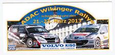 5 Mini-Rallye-Aufkleber Sticker ADAC WIKINGER Rallye 2013 Motorsport / VOLVO