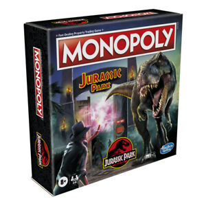 Monopoly Jurassic Park Edition Family Board Game