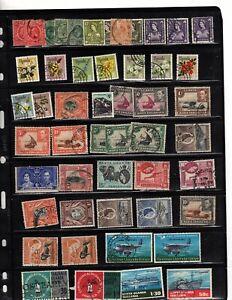 uganda kenya tanganyika stamp collection over 500 stamps dealer stock (mb17