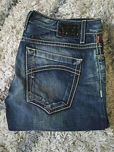 Robin's Jean 38 Denim Jeans Wings Dark Wash Light Stitching Studs Made in USA