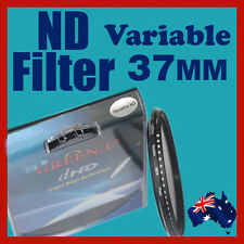37mm Neutral Density ND filter adjustable variable ND2 to ND400 OZ stock