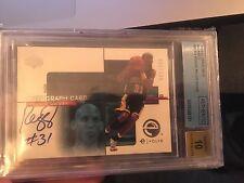 Reggie Miller 00-01 Upper Deck UD e-volve Signature Auto