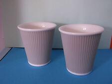 Un par de taza de papel de porcelana francesa' ' Diseño Tazas De Café ver es creer