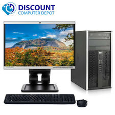 "HP Pro Desktop Computer Windows 10 Home C2D 3.0GHz 4GB 250GB 19"" LCD KeyMiceWiFi"