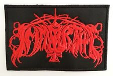 IMMORTAL RED LOGO EMBROIDERED  PATCH
