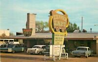 1969 Seligman Arizona Yavapai Copper Cart Restaurant Route 66 Postcard