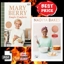 Mary Berry's Simple Comforts + Nadiya Bakes Includes all the delicious recipes.