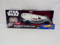 VINTAGE SEALED Hot Wheels Star Wars Remote Control Millennium Falcon Carship