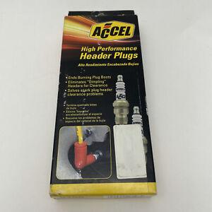 ACCEL HIGH PERFORMANCE Spark Plug Header Plug Accel 8198