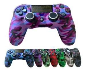 PS4 Playstation 4 Silicone Rubber Skin - Camo Protective Controller Grip Cover