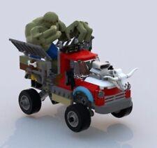 Custom Lego Batman Movie Killer Croc Truck - Instructions Only 70907
