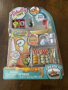 Totally Tiny 16 Pieces Sushi Dinner Toy Create New in Package. Shipped free.