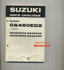 Suzuki Motorcycle Parts Paper Catalogues | eBay