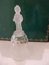 Avon / Hummel Lead Crystal Christmas Inspired Bell 1994