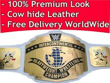WWE Intercontinental Championship Replica Title (2014) White Leather Premium