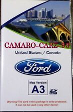 Ford USA/CANADA GPS Sync Navigation Map SD Data Card for OEM factory navi SYSTEM