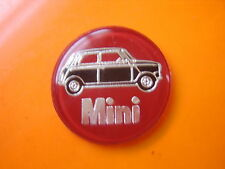 rare MINI cooper s steering wheel centre gearknob badge bmc rover leyland GT
