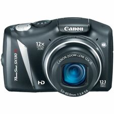 Canon PowerShot SX130 IS 12.1MP Digital Camera  Mint condition bundle package