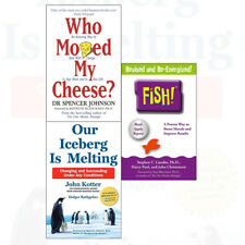 Who Moved My Cheese Our Iceberg is Melting Fish 3 Books Collection Set NEW