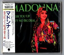 Madonna Maxi-CD DRESS YOU UP © 1984 Japan WPCP-3438 Remixes 4-track OVP SEALED