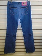 NEW - WOMENS FIORUCCI LOW RISE DISTRESSED DENIM JEANS, SIZE 5