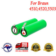 2.4V Razor Battery For Braun 4510,4520,5505 Series Remington Electric Shavers AU