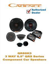 "Cadence QRS6K3 500 Watt 6.5"" 3-Way QRS Series Component Car Speakers"