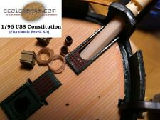 Wood Deck for 1/96 USS Constitution (fits Revell kit) by Scaledecks [LCD-11]