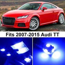 6 x Premium Blue LED Lights Interior Package Upgrade for Audi TT