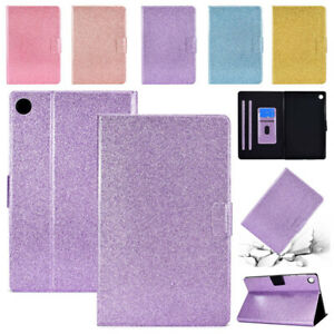 """Glitter Leather Stand Kids Case Cover For Lenovo M10 2nd Gen 10.1"""" 10.3"""" Tablet"""