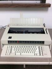Vintage 1986 IBM Wheelwriter 6 Electric Typewriter, Type 674X, Powers On, 8314S