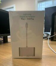 3 in 1 Lightning Digital HDMI/VGA/AV Adapter for iPhone & iPad