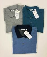 Calvin Klein Mens Liquid Touch Polo Shirt Variety Color Sizes