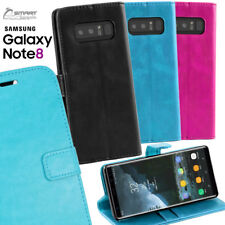 Wallet Flip Card Slot Stand Case Cover For Samsung Galaxy S8 / S8 Plus / Note 8
